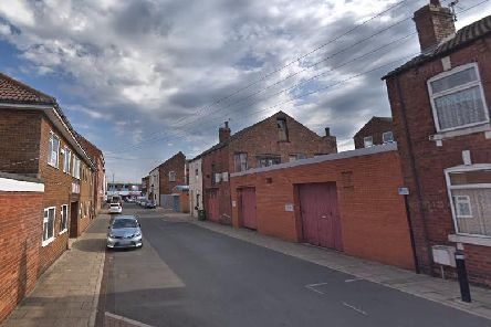 Violence erupted in Perseverance Street, in Castleford