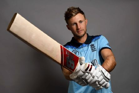 SWING HIGH: England's  Joe Root . Picture: Gareth Copley/Getty Images