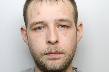 Adam Wiechnicki was jailed for more than five years for a 'campaign of robbery' in Wakefield, Normanton and Featherstone