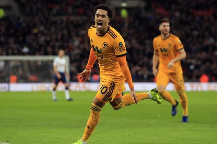Wolves winger Helder Costa.