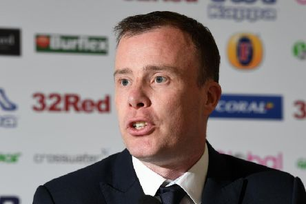 CONFIDENCE: From Leeds United managing director Angus Kinnear.