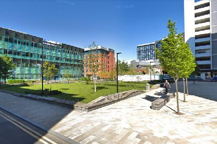 Sovereign Square could soon have a new addition. (Credit: Google)