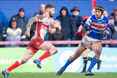 Hull KR's Will Dagger in action against Wakefield Trinity earlier this season (SWPix)