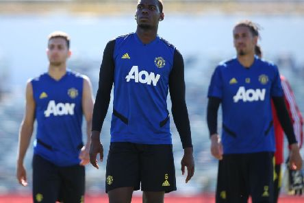 Manchester United midfielder Paul Pogba set to feature against Leeds. (Getty)