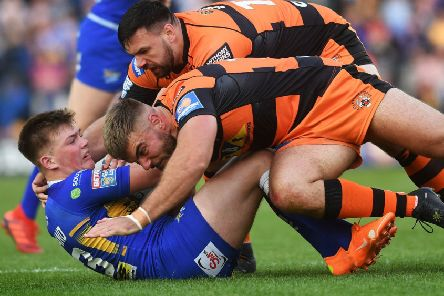 IN THE FRAME: Leeds Rhinos' Callum McLelland.' Picture Jonathan Gawthorpe