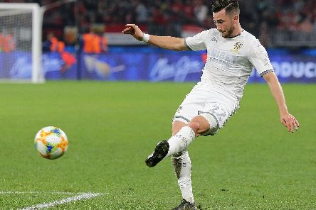PUTTING THE WORK IN: Leeds United winger Jack Harrison. Picture by Getty.