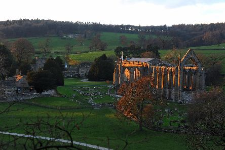 Bolton Abbey. Picture by Tony Johnson.