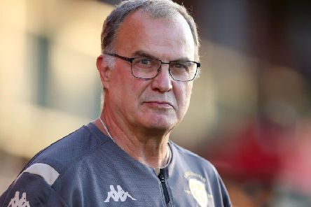 CHALLENGE: From Leeds United head coach Marcelo Bielsa.