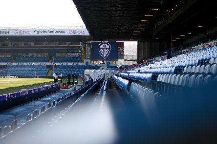 SEATS FOR LEEDS: In the West Stand lower away section, far side, at certain games. Photo by George Wood/Getty Images.