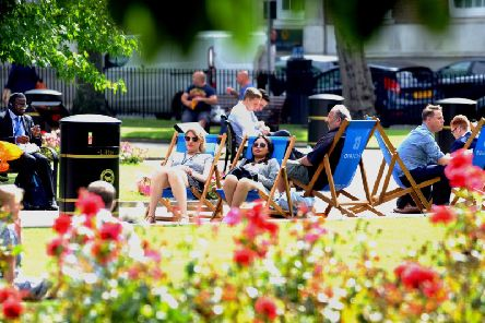 Bright sunshine will hit Leeds this weekend