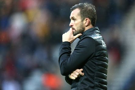 Stoke City boss Nathan Jones. (Getty)
