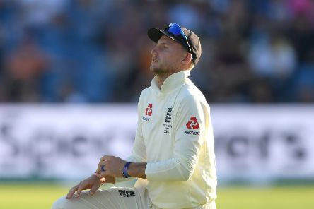TOUGH DAY AT THE OFFICE: England captain Joe Root shows his frustration on day two at Headingley. Picture: Stu Forster/Getty Images