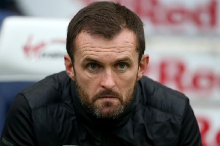 Stoke City boss Nathan Jones. Photo by Lewis Storey/Getty Images.
