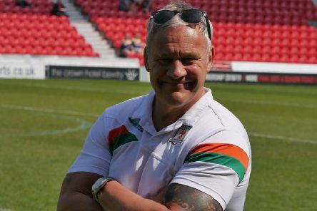 Hunslet head coach, Gary Thornton''was disappointed with the way his side's season finished. PIC: Hunslet RLFC
