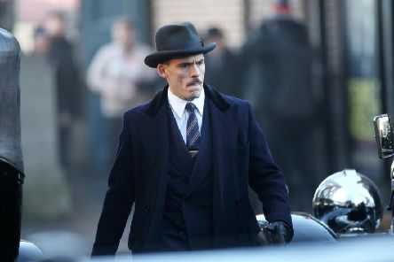Sam Claflin, who plays far-right politician Oswald Mosley in Peaky Blinders. Pictire: Lee McLean / SWNS.