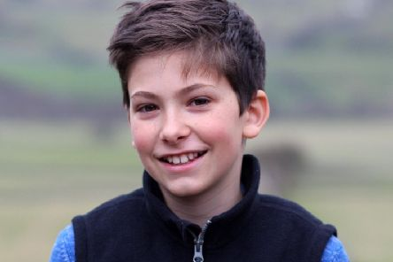 Frank Ashton, of Harrogate, who was just 14 when he died in February this year from Ewing Sarcoma.
