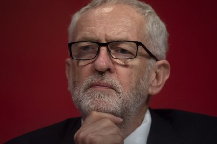 A thoughtful Jeremy Corbyn at the Labour conference.