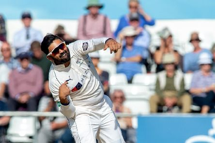 Backed to come good: Yorkshire's Ajaz Patel.