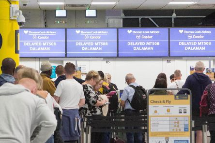 The CAA has launched a huge operation to repatriate customers stranded abroad (Photo: Rick Findler/PA Wire)