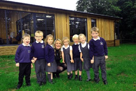 Close-knit: Hampsthwaite C of E Primary head Amy Ross says village schools play an integral role in communities. 'Picture: Gary Longbottom