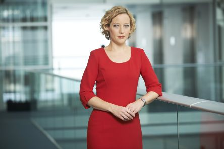 Cathy Newman says she is concerned about the level of online abuse directed towards female politicians.