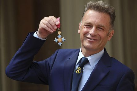 Packham was awarded a CBE for his services to nature conservation earlier this year.