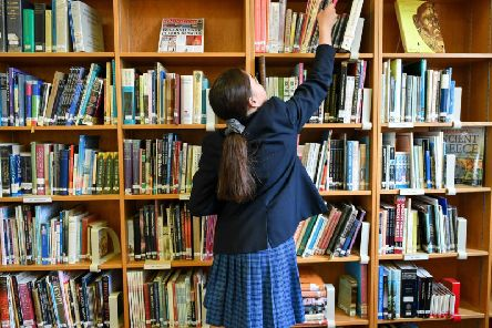 Primaries are less likely to have a dedicated library space than secondary schools, and in many cases, libraries are being used as classrooms or meeting rooms rather than for their original purpose. Photo credit should read: Ben Birchall/PA Wire