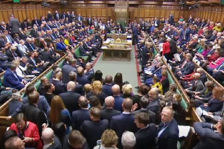 MPs have accepted the Letwin amendment, which seeks to avoid a no-deal Brexit on October 31, after Prime Minister Boris Johnson's new Brexit deal was debated in the House of Commons, London. Photo: House of Commons/PA Wire