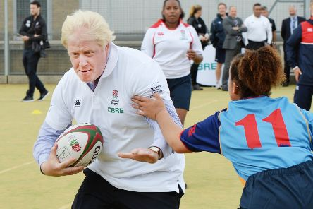 Another big week is in prospect for Prime Minister Boris Johnson and the England rugby team. Picture: John Stillwell/PA Wire