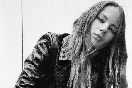 Aaliyah, cast in Leeds and now fronting the AllSaints campaign as part of a collaboration with The Squad model agency. #AllSaintsXTheSquad