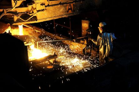 The British Steel plant in Scunthorpe Picture: Scott Merrylees
