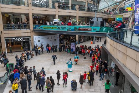 The Trinity Leeds shopping centre Picture: James Hardisty