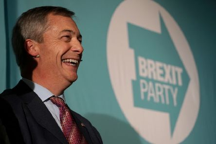 Nigel Farage says the Brexit Party will not field candidates in Tory-held seats.