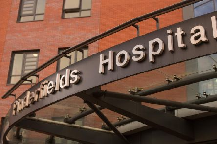 Pinderfields Hospital Picture: SWNS