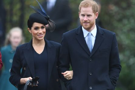 The Duke and Duchess of Sussex spent last Christmas with the Royal family in Sandringham.