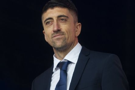 Pablo Hernandez at a party in Millennium Square for Leeds United celebrating their 100 anniversary of the club. (Picture: Tony Johnson)