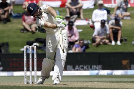 England's Jos Buttler: Fell to unusual catch against New Zealand.