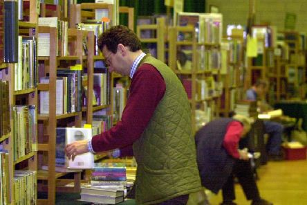 The amount spent by town halls on library services has dropped markedly in the last decade. Stock pic.
