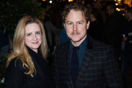 Laura Wade and Samuel West. Photo by Jeff Spicer/Getty Images
