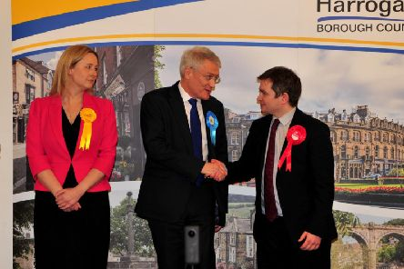 Labour candidate Mark Sewards lost out to Conservative Andrew Jones.