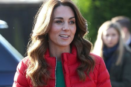Life's an adventure so dress the part. The Duchess of Cambridge beats the chill in style for a visit to Peterley Manor Farm in Buckinghamshire to take part in Christmas activities with families supported by the Family Action charity,  Jonathan Brady/PA Wire