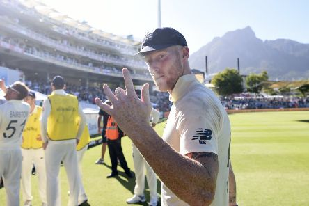 England player Ben Stokes celebrates after Day Five of the Second Test. (Picture: Stu Forster/Getty Images)