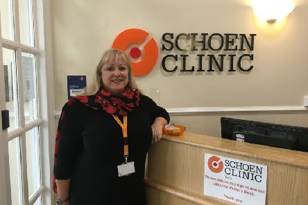 Sharon Pulling, hospital manager at Schoen Clinic York.