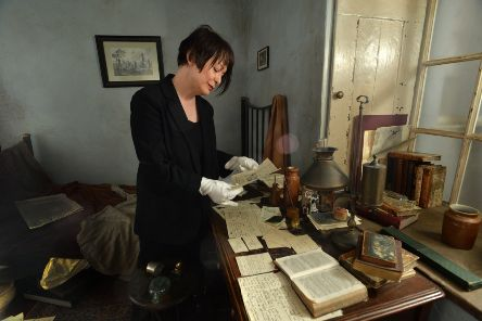 Ann Dinsdale,  principal curator at the Bront� Parsonage Museum