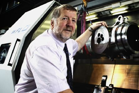 Professor Keith Ridgway is the founder of the Advanced Manufacturing Research Centre.
