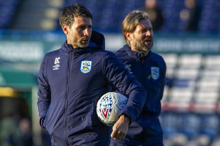 Danny Cowley: Huddersfield Town manager will not jeopardise the club's sustainability. (PIcture: Tony Johnson)