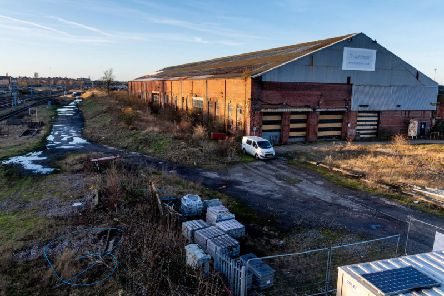 The 45-hectare site is railway land and mainly used for sidings and other light industry