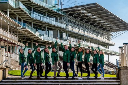 Eleven of the 12 amateur non-race riders chosen to take part in the prestigious charity horse race.