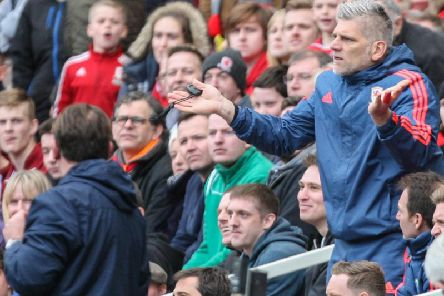 Middlesbrough coach Leo Percovich is one of those charged by the Football Association