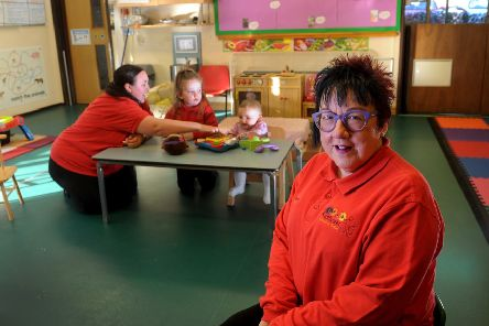 Karen Simpkin, owner of Sunflower Children's Centre in Sheffield. Picture by Simon Hulme